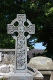 Cruz céltica, serán hechos, Irlanda Imagen de archivo