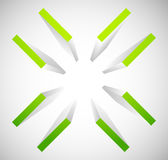 Cruz-cabelo, símbolo da marca do alvo Alinhe, precisão ou precisão ilustração royalty free