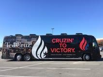 Cruz Campaign ankommer i charlestonen, SC Royaltyfria Bilder