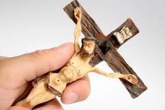 Cruz católica Fotografia de Stock Royalty Free