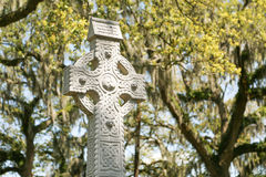 A cruz celta Fotos de Stock Royalty Free