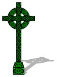 Cruz celta Fotos de Stock Royalty Free