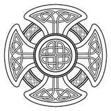 Cruz celta do vetor Fotografia de Stock Royalty Free