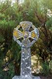 Cruz celta em Gunwalloe fotografia de stock royalty free