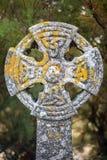 Cruz celta em Gunwalloe fotos de stock