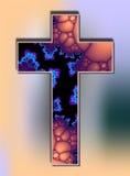 Cruz celular ilustração royalty free