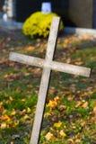 Cruz con crucificado Imagen de archivo libre de regalías