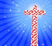Cruz con el corazón libre illustration