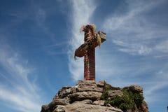 Cruz Condor i Peru Arkivbild
