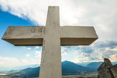 Cruz cristiana Fotos de archivo libres de regalías