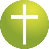 Cruz cristiana Imagen de archivo libre de regalías