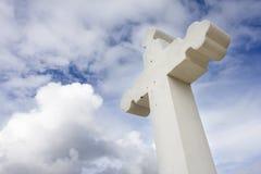 Cruz cristiana rústica Imagen de archivo libre de regalías