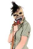 Cruz da mulher de Halloween Foto de Stock