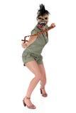 Cruz da mulher de Halloween Fotografia de Stock Royalty Free