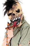 Cruz da mulher de Halloween Fotos de Stock