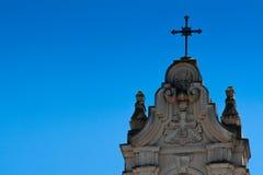 Cruz da paróquia à direita Foto de Stock Royalty Free