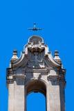 Cruz da paróquia acima Fotografia de Stock