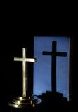 Cruz da sombra Imagem de Stock