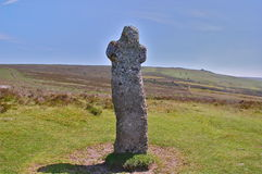 A cruz de Bennett em Dartmoor amarra Imagens de Stock