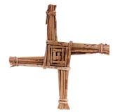 Cruz de Brigid del santo fotografía de archivo libre de regalías