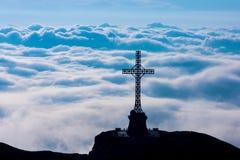 Cruz de Caraiman Fotografia de Stock Royalty Free