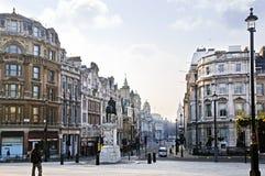 Cruz de Charing em Londres Fotografia de Stock