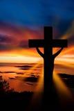 Cruz de Easter Fotografia de Stock
