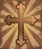 Cruz de Grunge Foto de archivo libre de regalías