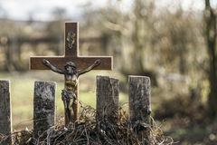 Cruz de Jesus Foto de Stock Royalty Free