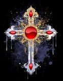 Cruz de la cerda joven Foto de archivo libre de regalías