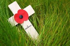 Cruz de la conmemoración Foto de archivo