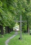 Cruz de la fe Fotografía de archivo libre de regalías