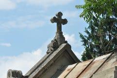 Cruz de la pequeña capilla Imagenes de archivo