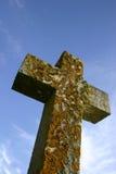 Cruz de la piedra Foto de archivo libre de regalías