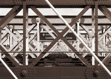 Cruz de Londres imagem de stock