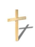 Cruz de madeira Fotografia de Stock Royalty Free