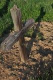 Cruz de madeira Foto de Stock Royalty Free