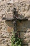 Cruz de madera Imágenes de archivo libres de regalías