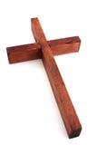 Cruz de madera Foto de archivo