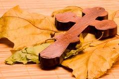 Cruz de madera 2 Fotos de archivo libres de regalías