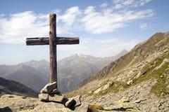 Cruz de madera Fotografía de archivo libre de regalías