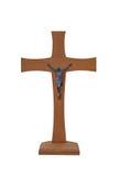 Cruz de madera ilustración del vector