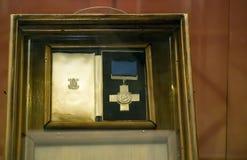 Cruz de Malta George Fotos de archivo libres de regalías