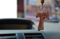 Cruz de mi manera Imagen de archivo libre de regalías