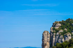 Cruz de Monserrate Imagem de Stock Royalty Free