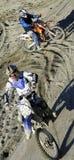 Cruz de Moto Imagen de archivo libre de regalías