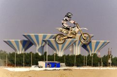 Cruz de Moto Imagen de archivo