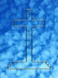 Cruz de oro stock de ilustración
