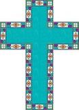Cruz de Pascua stock de ilustración
