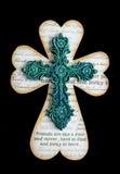 Cruz de Patricks del santo Imágenes de archivo libres de regalías